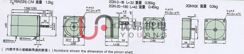 6瓦小型减速电机www.you-ang.com