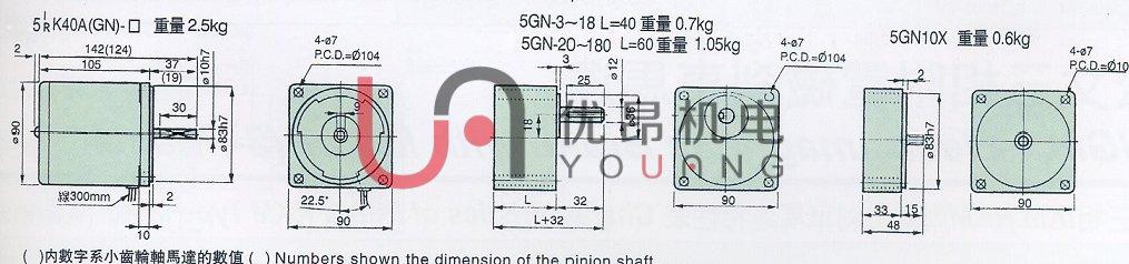 40瓦微型电机www.you-ang.com