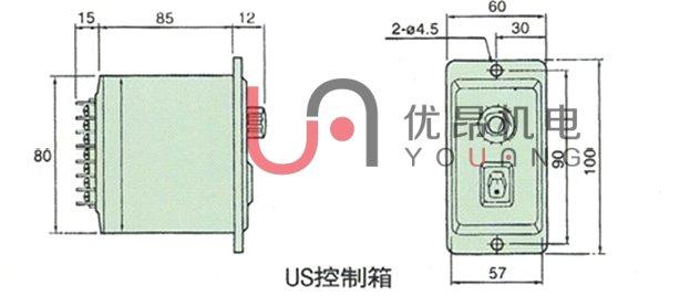 该电机调速器依靠转速探头,传感器,测速发电机等感知并显示电机转速